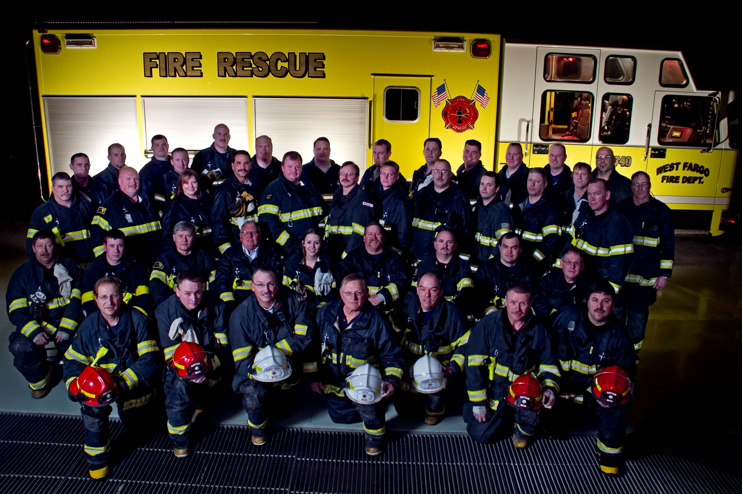 Fire Department Group Photo 2010