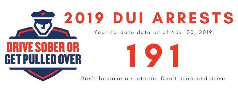 2019 DUI ARRESTS thru Nov